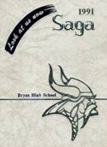 1991 Yearbook Bryan High School