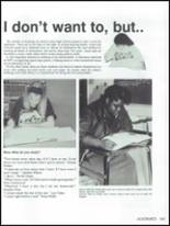 1991 Bryan High School Yearbook Page 166 & 167