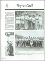 1991 Bryan High School Yearbook Page 204 & 205