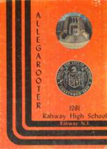 1981 Yearbook Rahway High School