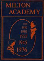 1976 Yearbook Milton Academy