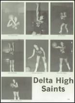 1984 Delta High School Yearbook Page 112 & 113