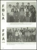 1984 Delta High School Yearbook Page 128 & 129