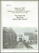 1984 Delta High School Yearbook Page 160 & 161