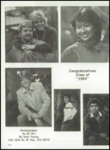 1984 Delta High School Yearbook Page 166 & 167