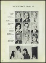 1973 Eula High School Yearbook Page 14 & 15