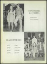 1973 Eula High School Yearbook Page 30 & 31