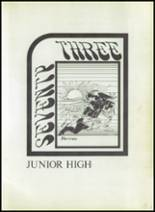 1973 Eula High School Yearbook Page 36 & 37
