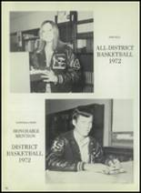 1973 Eula High School Yearbook Page 74 & 75
