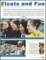 2001 Carmel High School Yearbook Page 16 & 17