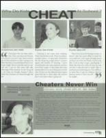 2001 Carmel High School Yearbook Page 176 & 177