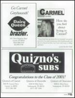 2001 Carmel High School Yearbook Page 336 & 337