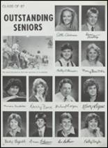 1987 Crestwood High School Yearbook Page 36 & 37