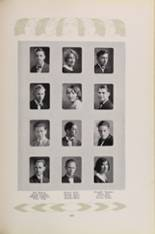 1928 Los Angeles High School Yearbook Page 130 & 131