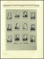 1935 Northern High School Yearbook Page 60 & 61