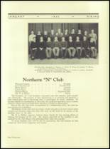 1935 Northern High School Yearbook Page 110 & 111