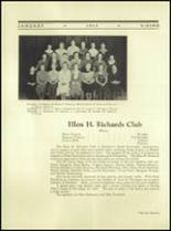 1935 Northern High School Yearbook Page 112 & 113