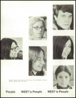 1970 West High School Yearbook Page 38 & 39