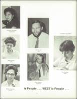 1970 West High School Yearbook Page 70 & 71