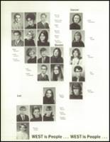 1970 West High School Yearbook Page 104 & 105