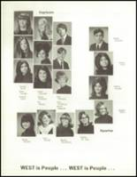 1970 West High School Yearbook Page 106 & 107