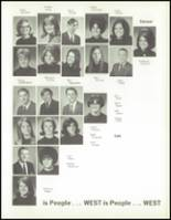 1970 West High School Yearbook Page 108 & 109