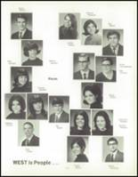 1970 West High School Yearbook Page 114 & 115