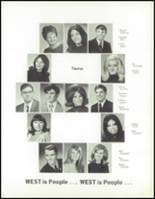1970 West High School Yearbook Page 116 & 117
