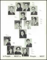 1970 West High School Yearbook Page 120 & 121
