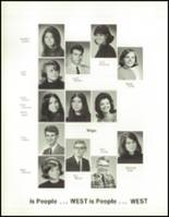 1970 West High School Yearbook Page 122 & 123