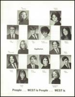 1970 West High School Yearbook Page 126 & 127