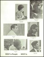 1970 West High School Yearbook Page 160 & 161
