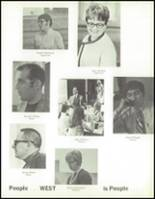 1970 West High School Yearbook Page 162 & 163