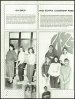 1989 Armuchee High School Yearbook Page 56 & 57