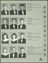 1989 Armuchee High School Yearbook Page 112 & 113
