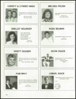 1989 Armuchee High School Yearbook Page 142 & 143