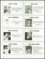 1989 Armuchee High School Yearbook Page 144 & 145