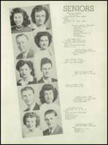 1946 Concord High School Yearbook Page 16 & 17