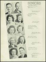 1946 Concord High School Yearbook Page 18 & 19