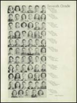 1946 Concord High School Yearbook Page 30 & 31
