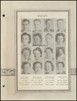 1940 Clyde High School Yearbook Page 14 & 15