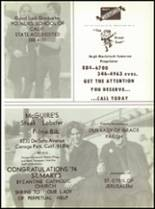 1974 Crespi Carmelite High School Yearbook Page 148 & 149