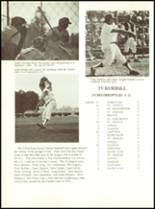 1974 Crespi Carmelite High School Yearbook Page 166 & 167