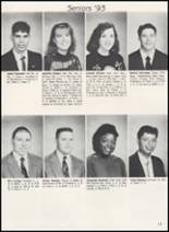 1993 Frederick High School Yearbook Page 14 & 15