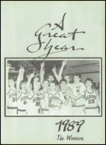 1989 White Pine High School Yearbook Page 40 & 41