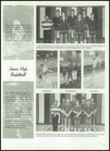 1989 White Pine High School Yearbook Page 56 & 57
