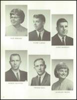 1965 Reese High School Yearbook Page 16 & 17