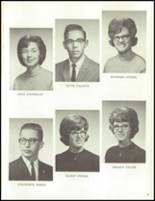 1965 Reese High School Yearbook Page 20 & 21
