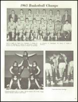1965 Reese High School Yearbook Page 64 & 65