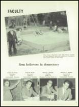 1954 Boyertown Area High School Yearbook Page 22 & 23
